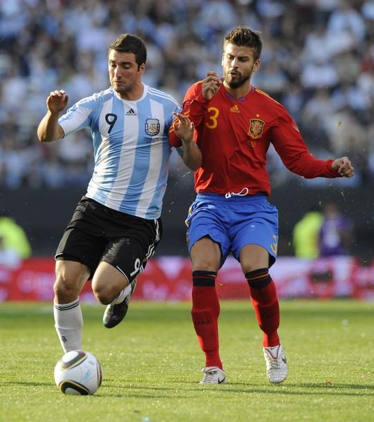 Argentina 4-1 Spain