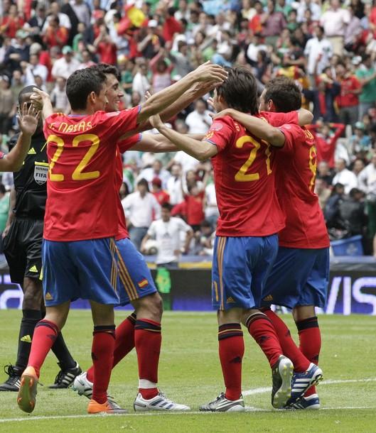 Mexico 1-1 Spain